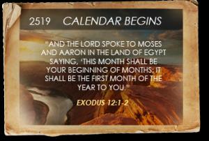 exodus 12 2 calendar