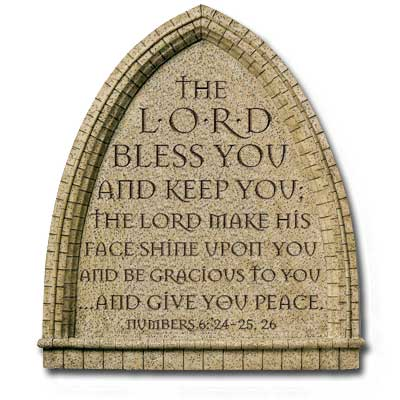 The Aaronic Blessing from the Priest to the Congregation (Numbers 6